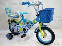 3 Sepeda Anak Red Fox BMX Sandaran Boncengan 12 Inci 3