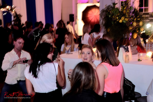 Megan Gale and friends, The Social Party at Pelicano David Jones for VFNO