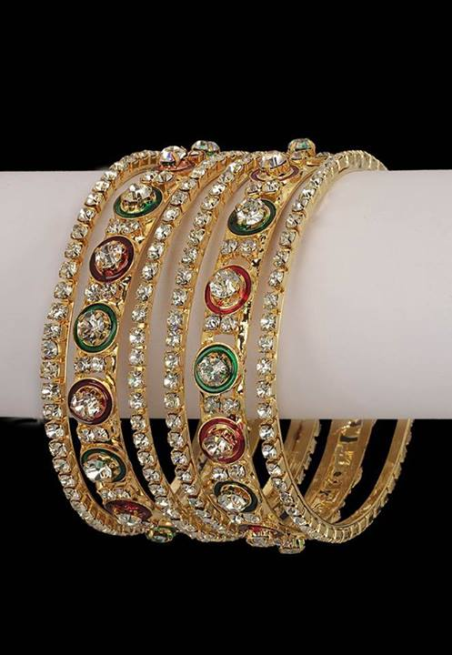 15 Latest Indian Glass Bangles Collection Styles At Life