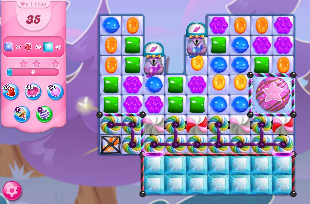 Candy Crush Saga level 7733