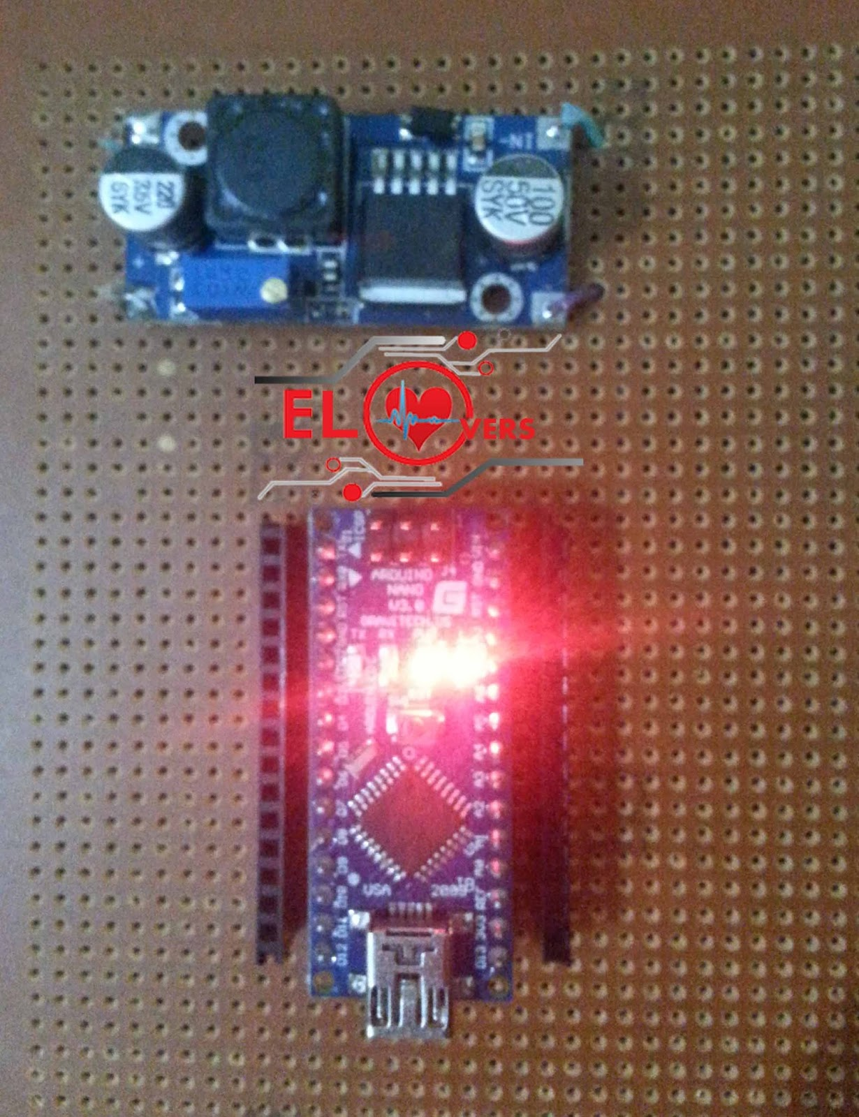 How To Turn On Arduino Using Buck Converter Electronics Lovers Make Printed Circuit Board Pcbgogo