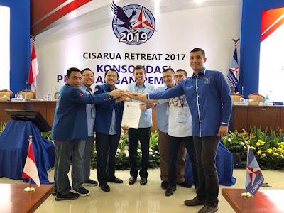 Akhirnya Majelis Tinggi Partai Demokrat Putuskan M. Ridho Ficardo Sebagai Cagub Lampung Periode 2019-2024
