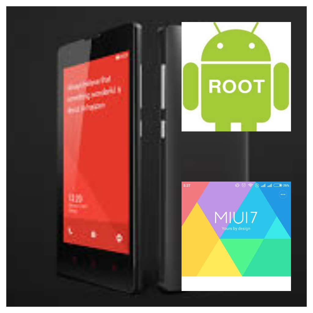 How To Root Xiaomi Redmi 1s Running On Miui V7 (Without PC