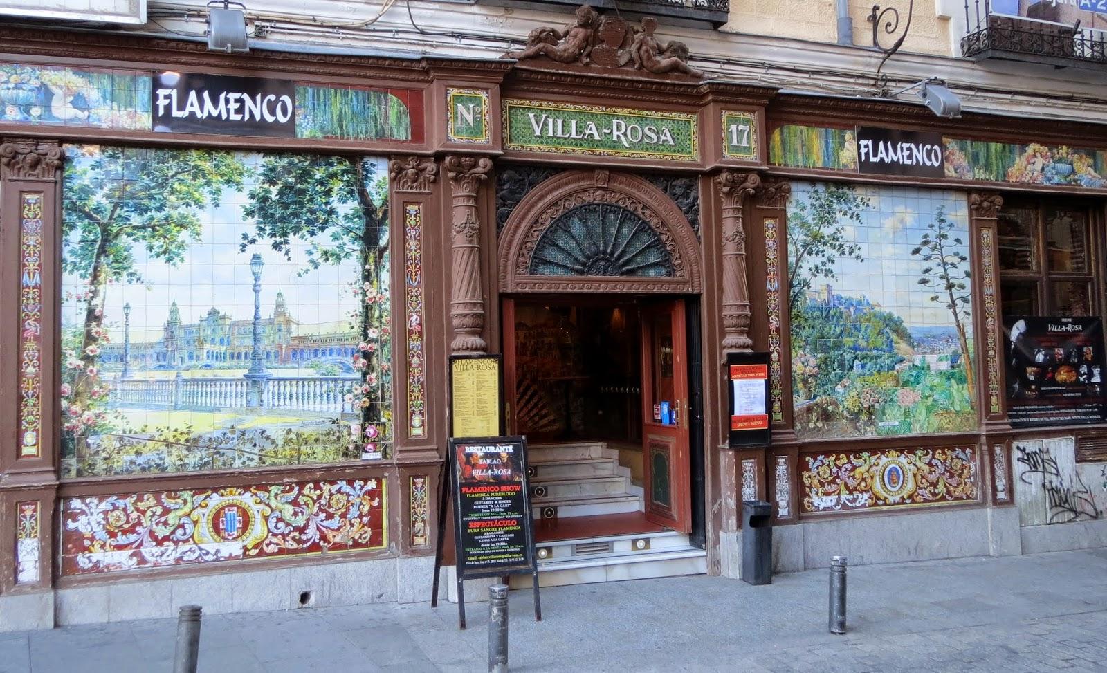 Azulejos Alfonso Romero. Tablao flamenco. Nuñez de Arce