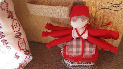Народная кукла, оберег, Десятиручка, Мастер-класс