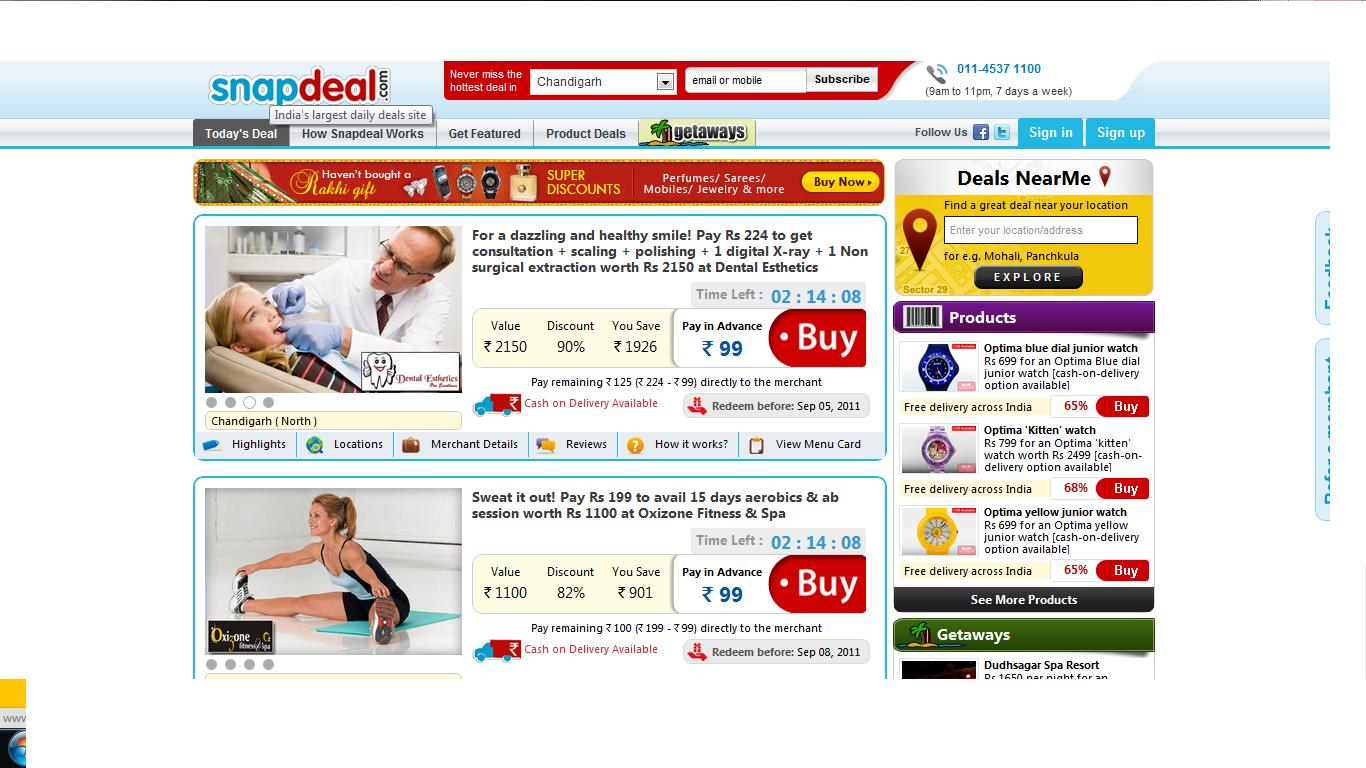 Online shopping myantra
