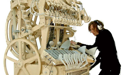Martin Molin marble machine
