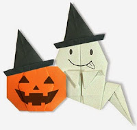 Origami A Halloween Bag instructions