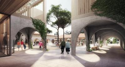 """Francia está construyendo una """"aldea de Alzheimer"""" para que los pacientes vivan con más libertad"""