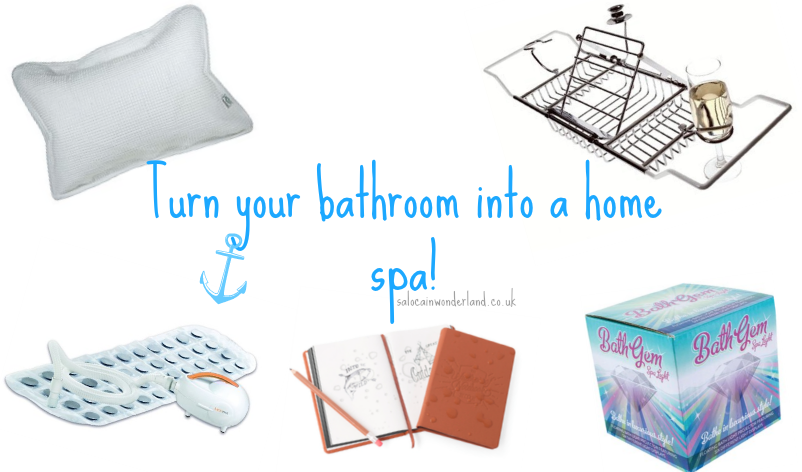 Saloca In Wonderland 5 Things You Need To Turn Your Bathroom Into A Home Spa
