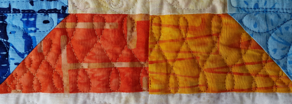 Connections mini quilt | DevotedQuilter.blogspot.com