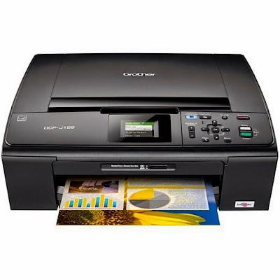 Laden Sie den Brother DCP-J125-Druckertreiber herunter