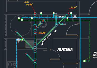 Plano de vivienda de 122 m2  Arquitectura Estructuras