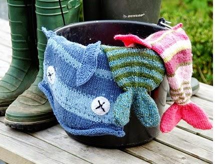 Marzipanknits Machine Knit Dead Fish Hat
