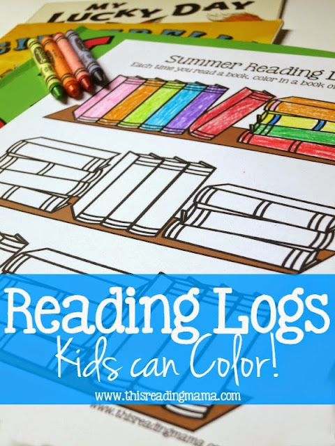 FREE Bookshelf Summer Reading Log! Such a fun free printable where kids get to color books as they read them. Great for summer reading, homeschooling, parents, teachers, and more! LOVE THIS!!