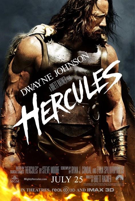 Poster pentru Hercules cu Dwayne Johnson