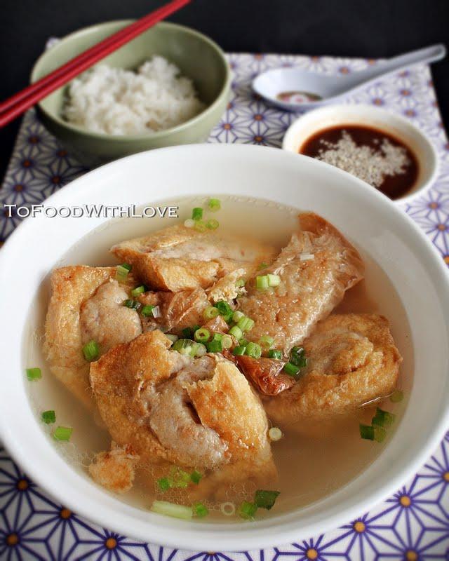 To Food With Love Easy Yong Tau Foo