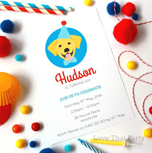 Puppy Party Invitation