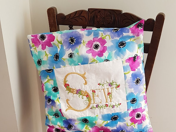 Machine embroidery on a quilt - Top Tips on getting it right!