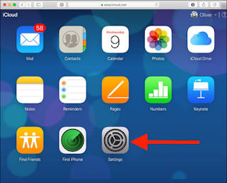 Cara Mngembalikan File Yang Terhapus  di iCloud Drive