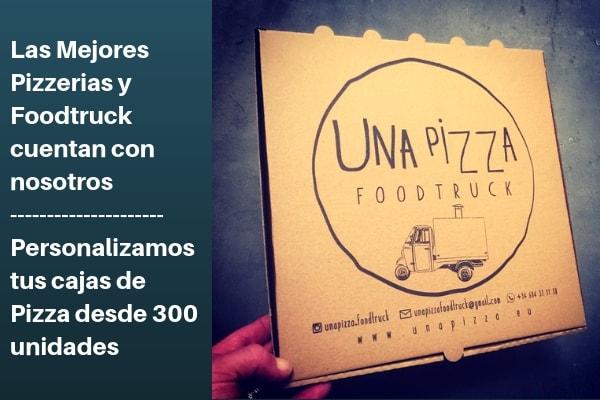las mejores cajas para pizzerias  y foodtruck