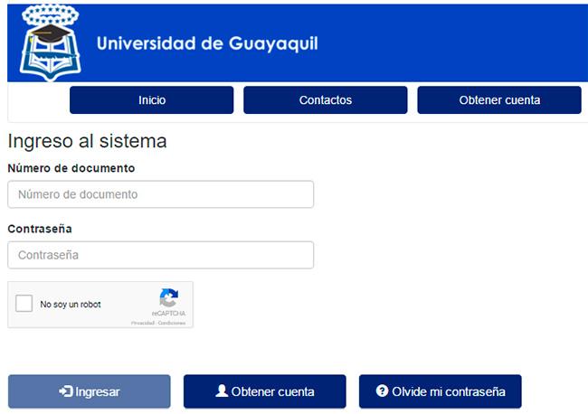Asignación de Cupos  Universidad de Guayaquil 2017 - Consultar Resultados  universidad de Guayaquil