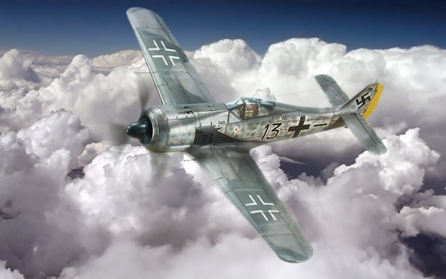 "The ""Priller´s Focke Wulf"" work."
