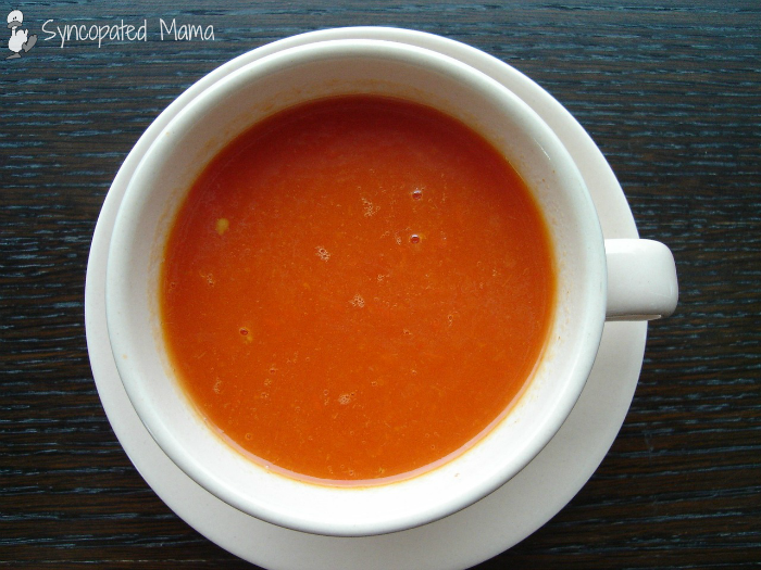 Tomato Soup (with the requisite grilled cheese, of course)