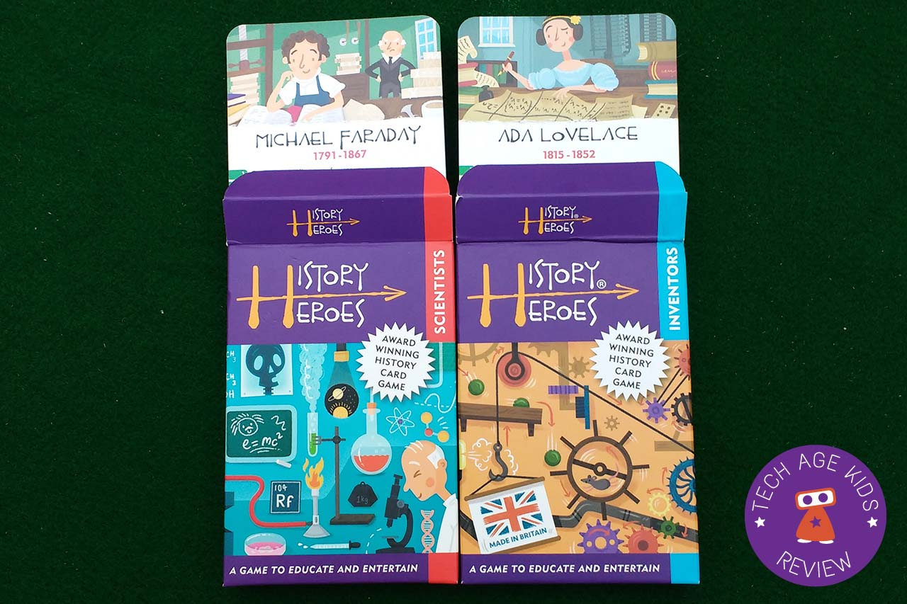 History Heroes: Card Games to Teach Kids about Scientists