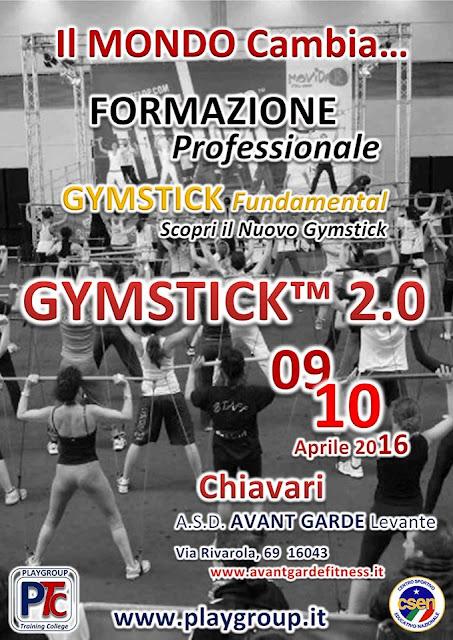 Formazione GYMSTICK 2.0 - Chiavari ( GE ), 9-10 aprile 2016 a Chiavari, Genova