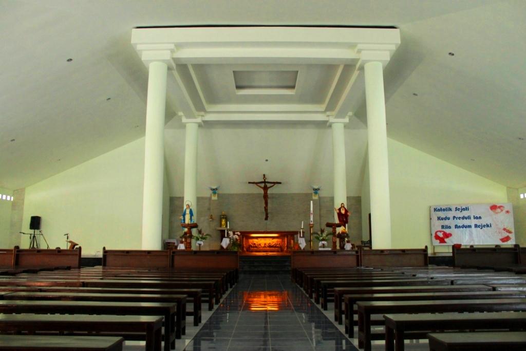 Fotografi Gereja Katolik Di Indonesia Gereja Katolik St Perawan Maria Diangkat Ke Surga Dalem Klaten Keuskupan Agung Semarang