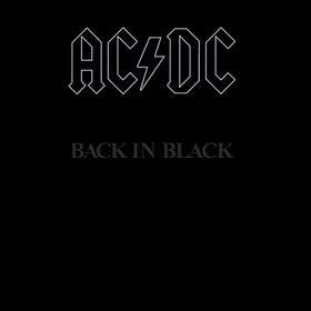 ACDC - Back In Black Los mejores discos de 1980