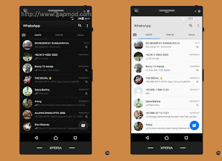 WhatsApp BLACK and WHITE Based v2.17.323 OFFICIAL Apk