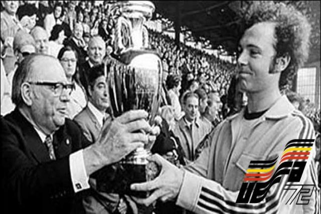 Euro 1972 -O primeiro título da Alemanha no Continente'' id=