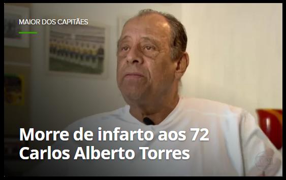 ► o maior dos capitães do futebol brasileiro
