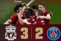 Cuplikan Gol Liverpool vs Paris Saint Germain 3-2