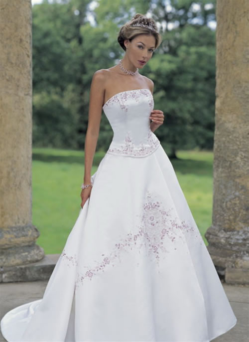 Modern Design Of Wedding Dress And Bridal Gown