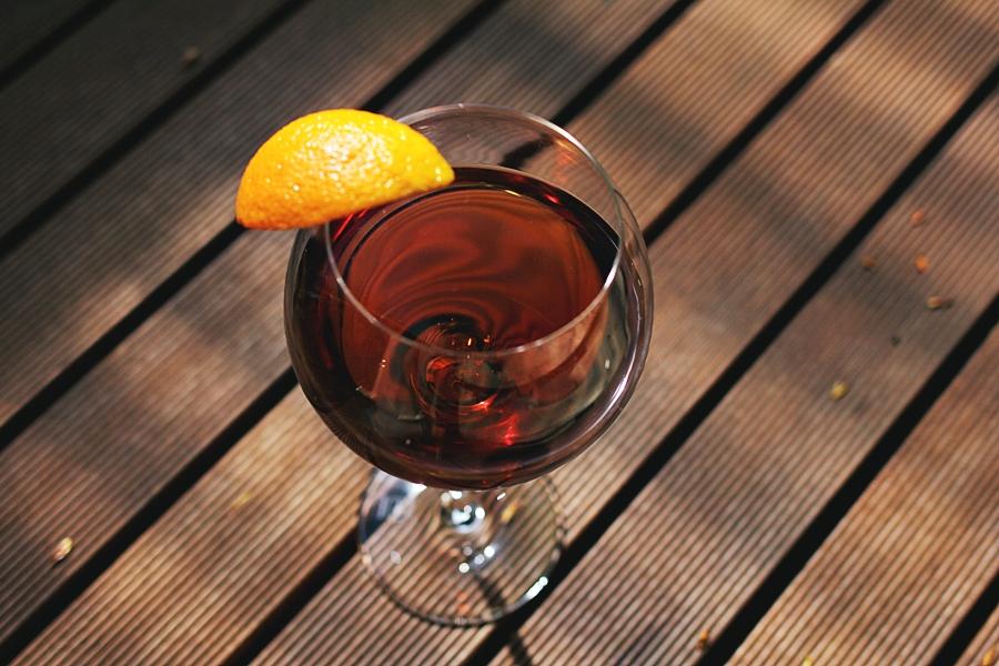 martini rosso aperitif