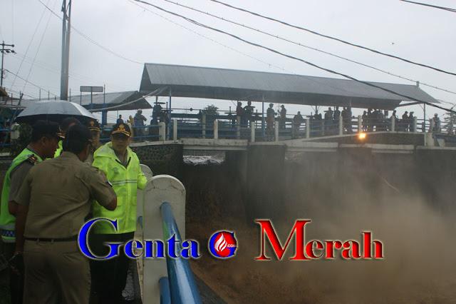 Banjir Mengancam Warga Ciliwung, Kapolresta Bogor Nyatakan Siaga 1