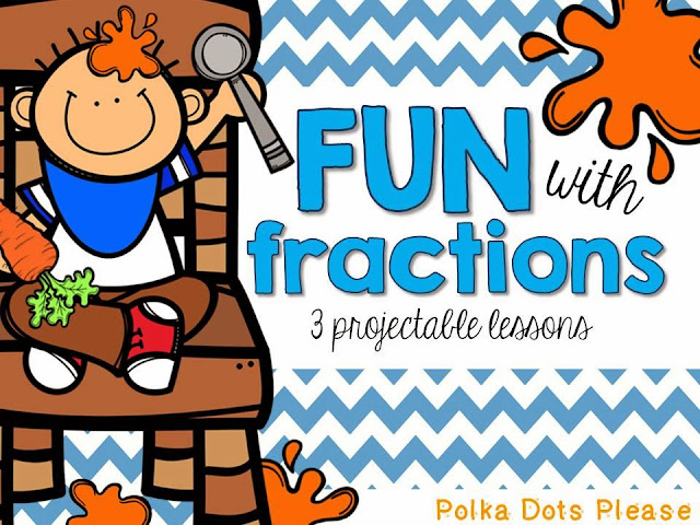 Fraction Fun with Freebies! - Polka Dots Please