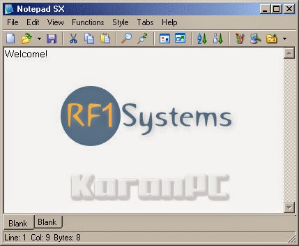 RF1-System Notepad SX Pro