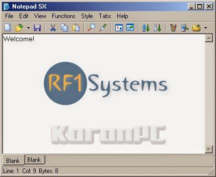 RF1-System Notepad SX Pro