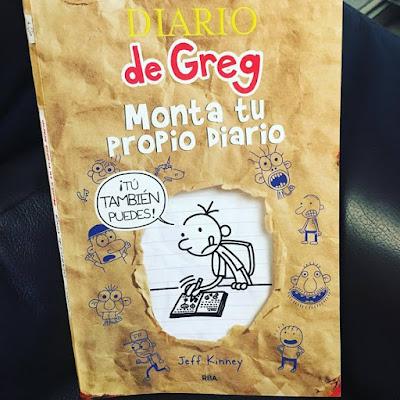 Diario de Greg, Monta tu propio diario, boolino, que estás leyendo, lecturas, libros,