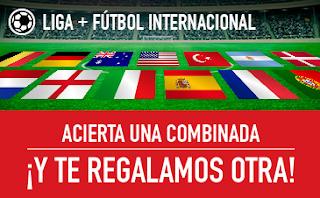 sportium Fútbol: Combinada Gratis 1-3 diciembre