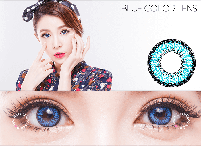 venus eye blue circle lenses