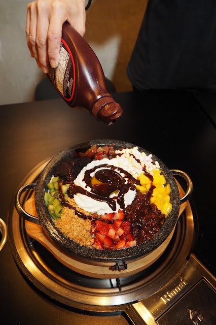 interesting Bibimbap Bingsu singapore