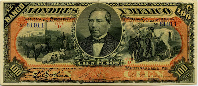 Mexico Currency Money peso banknotes