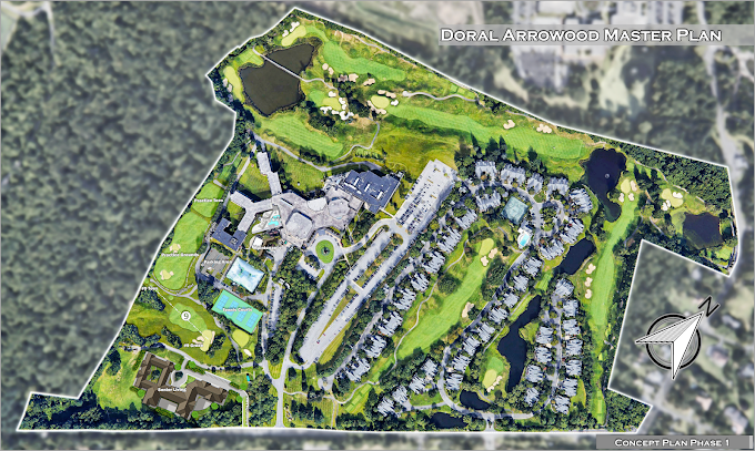 Site Concept and Development, Rye Brook, New York