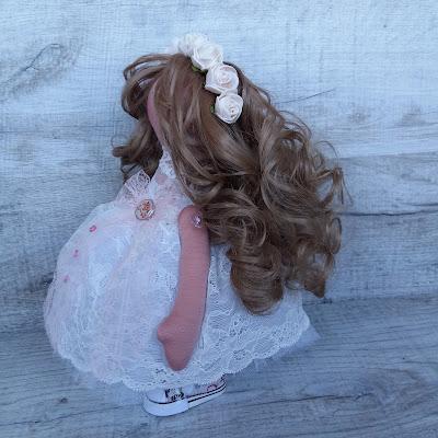 невеста, кукла балерина, кукла невеста, на свадьбу