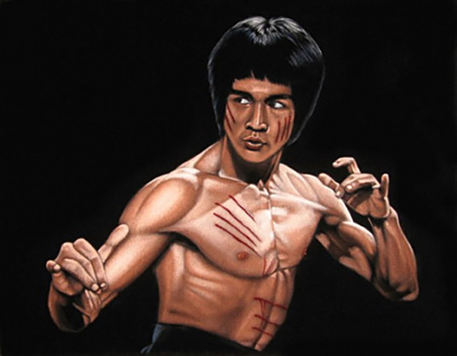 Bruce White (US) - Bruce Lee art collection @ YellowMenace